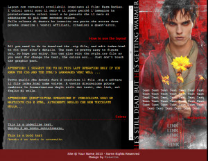 Warm Bodies Tumblr Quotes Warm bodies web layout by