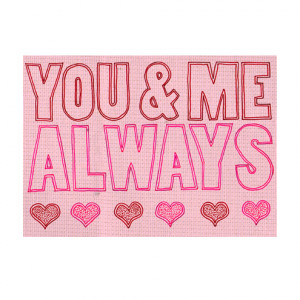 folksy buy you and me always quote wall art print 8 x 10