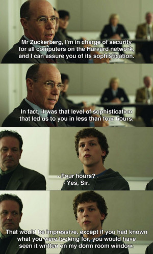 The Social Network (2010) ~ Movie Quotes watch this movie free here ...
