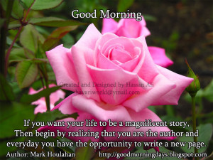 Good Morning Thursday. 8 Inspiring Beautiful Quotes for the day