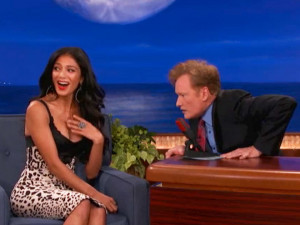 photo | Conan O'Brien, Nicole Scherzinger
