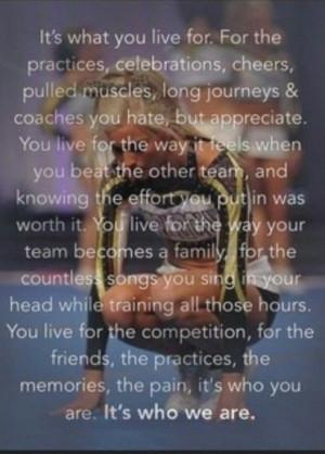Cheerleading quotes, inspiring, motivational, sayings, long