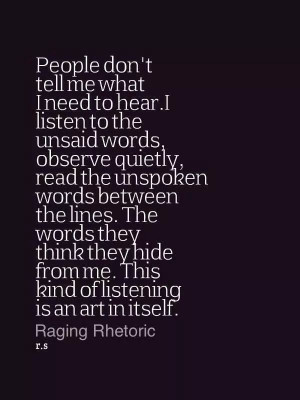 The INFJ ear. Yep, I'm sensing your feelings and listening to your ...