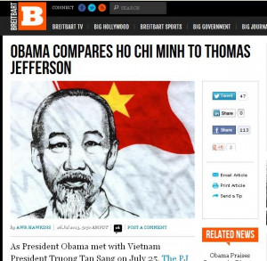 ... 'Compare' an Infamous Communist Dictator to Thomas Jefferson