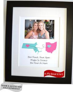 ... Heart Mugs-Going Away Present, Best Friends, Going Away Gift
