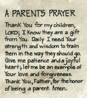 love this prayer