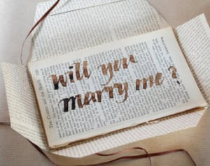 Will You Marry Me Poems