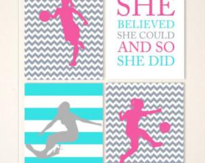 Girls wall art, surfer girl, soccer girl, basketball girl, girls ...