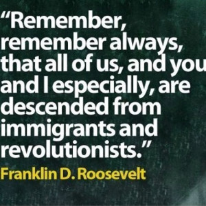 ... immigrants and revolutionists.