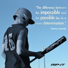 ... motivate softball and baseball players to stay focused and determined