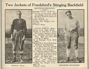 Red Grange Frankford Yellow Jackets Red Phillips
