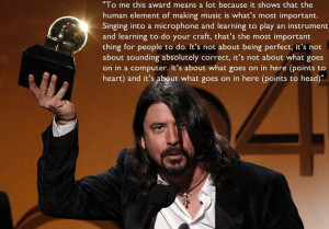 dave grohl kurt cobain hologram dave grohl quotes grammy