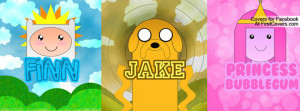 pb, finn and jake Profile Facebook Covers