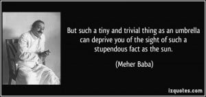 More Meher Baba Quotes