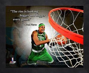 ... Celtics 8x10 Wood Framed Pro Quotes Photo Combined Shipping | eBay