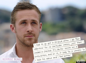 ryan gosling movie quotes Gosling was replaced by Mark Wahlberg in The ...