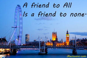 ... – Inspirational Friendship Quotes: LONDON–APRIL—London Eye