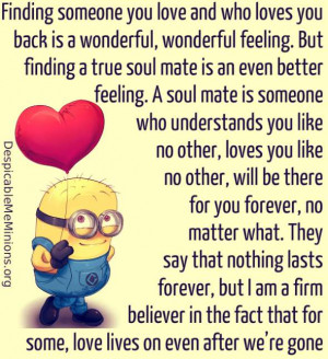 Finding someone you love