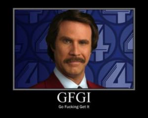 Anchorman Quotes Ron Burgundy...
