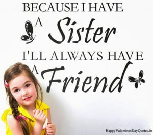Happy Valentines Day To My Sister Quotes 2015 Wishes M essages Sms