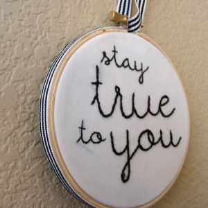 Coffee Talk Monday… Stay TRUE to you