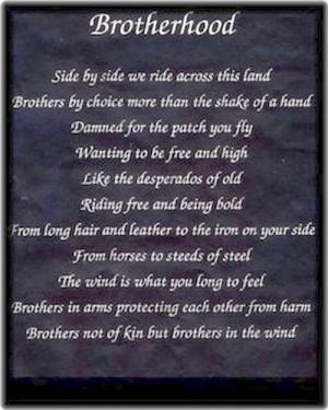 Biker Brotherhood Quotes Biker prayer