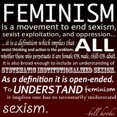 Feminism definition, from bell hooks