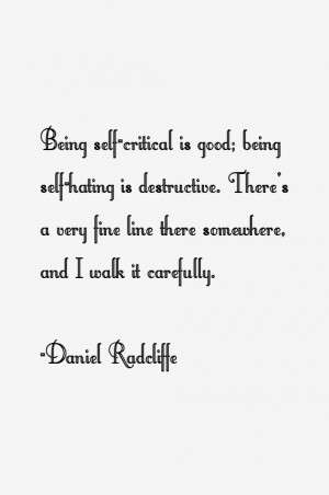 Daniel Radcliffe Quotes & Sayings