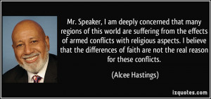 Mr. Speaker, I am deeply concerned that many regions of this world are ...
