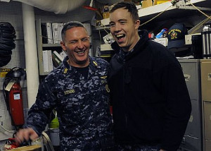 Master Chief Petty Officer of the Navy (MCPON) Mike Stevens visits ...