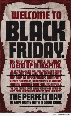 Black friday hidden quote - Funny Pictures, Funny Quotes, Funny Memes ...