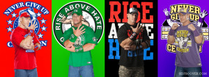 John Cena FB timeline cover photo is specially customized for Facebook ...