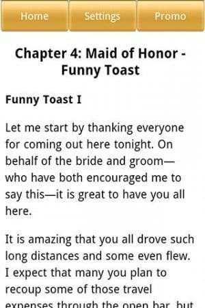 Need Help Writing A Maid Of Honor Speech