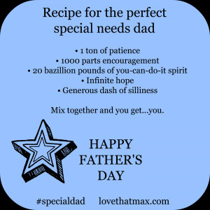 Father's Day cards for special needs dads