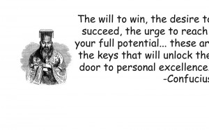 Confucius quote wallpaper