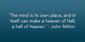 John Milton Quote