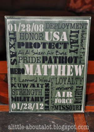 Military Homecoming Sign Sayings A homecoming party for my