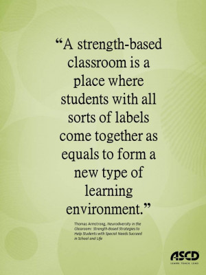 Thomas Armstrong, Neurodiversity in the Classroom: Strength-Based ...