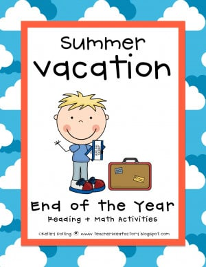 END OF YEAR POSTCARDS + HOME SCHOOL SCIENCE