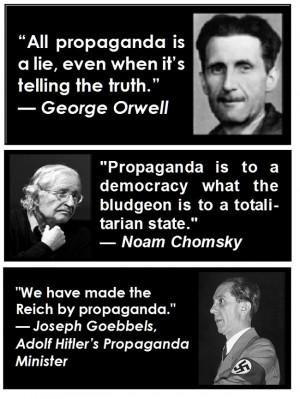 Joseph Goebbels Propaganda Quotes Today's quotes: propaganda