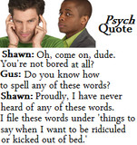 Funny Psych Quotes Credited