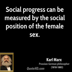 Karl Marx Sex Quotes