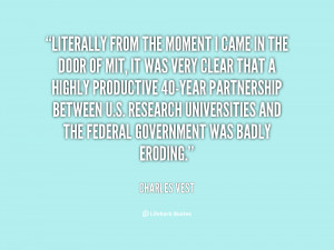 Charles Vest Quotes