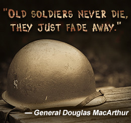 Douglas MacArthur quote on soldiers