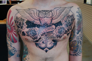 Chest Piece Tattoo Quotes