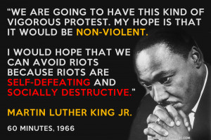 This Martin Luther King Jr Quote Is For Baltimore