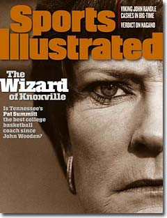 Pat Summitt Cover - Sports Illustrated March 02, 1998