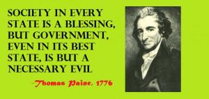 Thomas Paine Quotes Freedom Thomas paine quote society