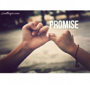 Promise quotes pinky promise cute friendship