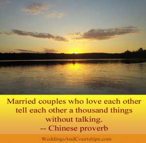 Married Couples Who Love Each Other Tell Each Other A Thousand Things ...